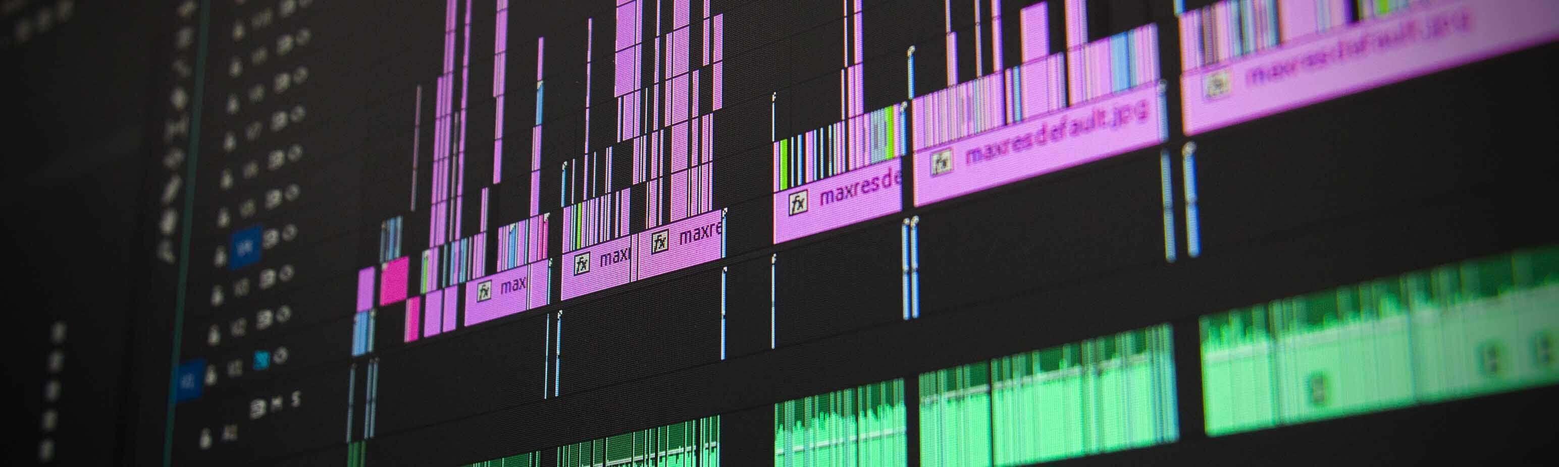 Videoproduktion und Videoschnitt