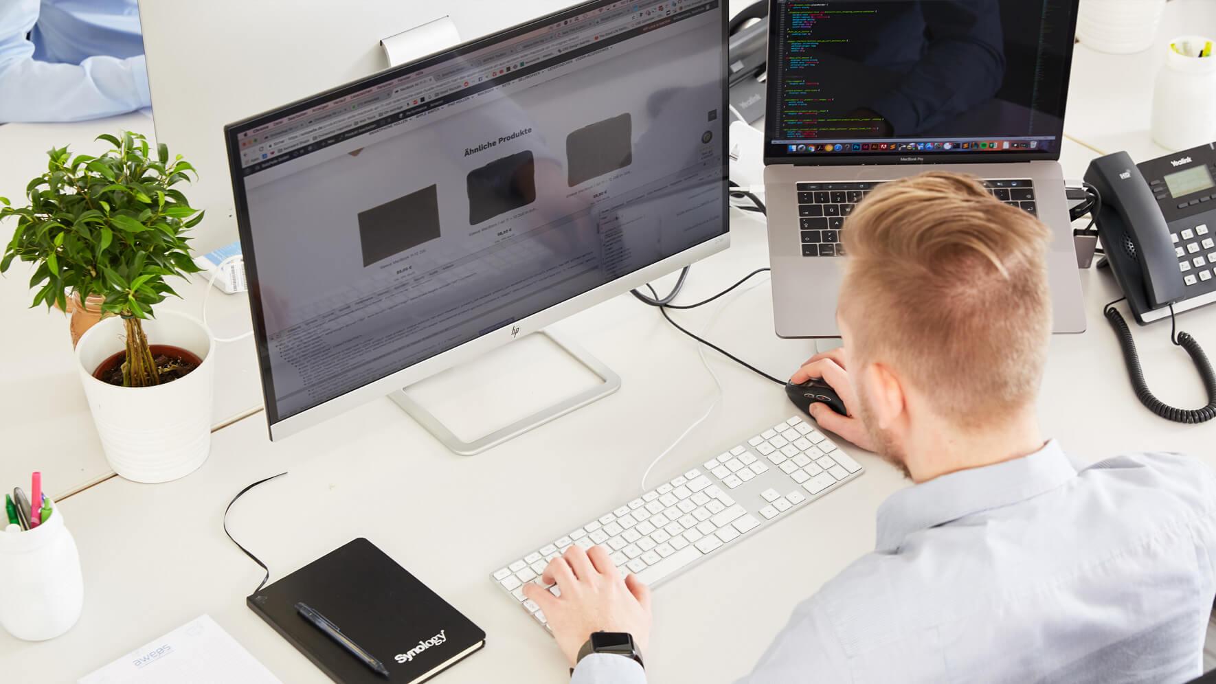 Webdesign und Web-Entwicklung