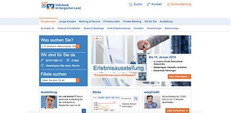 Volksbank im Bergischen Land eG - Kunde aus Remscheid
