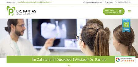 Zahnarztpraxis Dr. Pantas - Kunde aus Düsseldorf