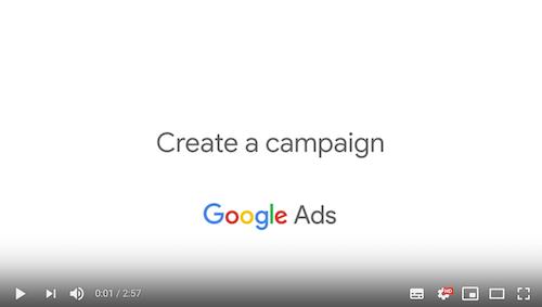 Kampagne erstellen Google Ads