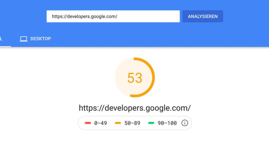 Google PageSpeed: Wie zuverlässig sind die PageSpeed Ergebnisse?