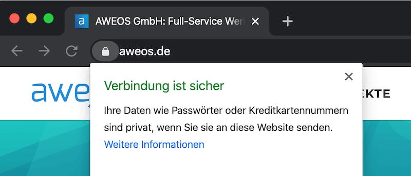 SSL Zertifikat SEO