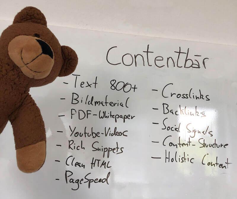 Contentbär SEO Strategie
