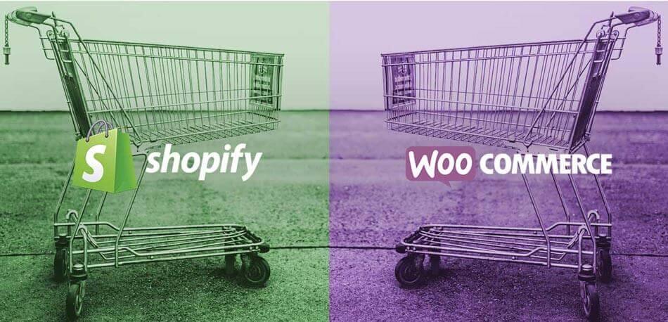 Shopify gegen WooCommerce: Shop-Lösungen im Vergleich