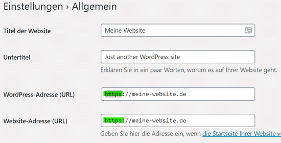 HTTPS in WordPress aktivieren