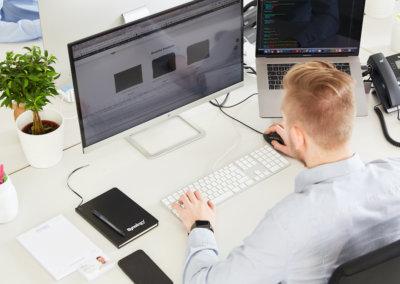 Webdesign, Jonas Rüttgers