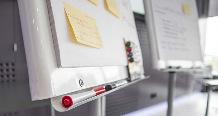 Scrum Sprint Planning Meeting mit dem Projekt-Team
