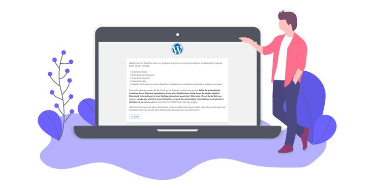 WordPress Installationsassistent